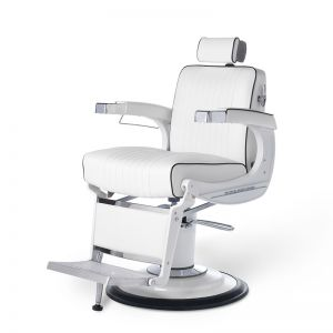 Apollo 2 Elite White Barber Chair