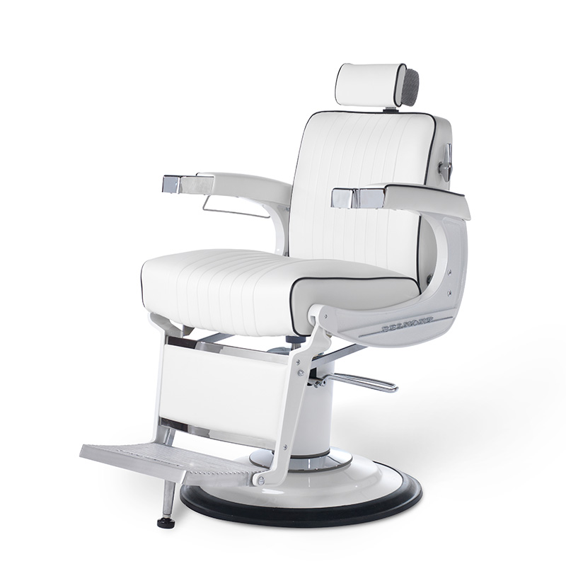 Barber Chair Takara Belmont Apollo 2 Elite Gloss White 001